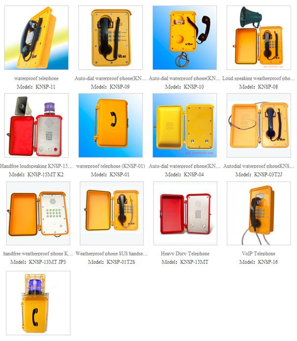 Telefony wodoodporne